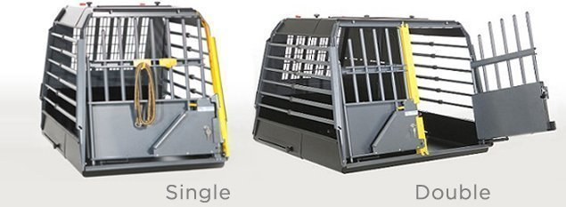 MIM Safe Variocage Crash Tested Dog Crate Single and Double