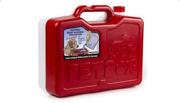 PetBox Red Portable Food Container