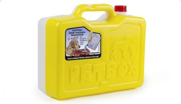 PetBox Yellow Portable Food Container