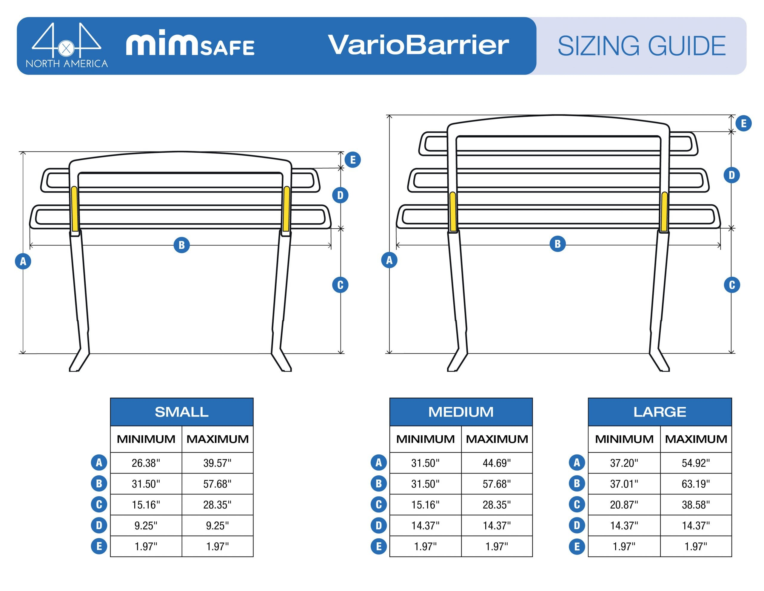 Vario Barrier Sizing Guide-2021